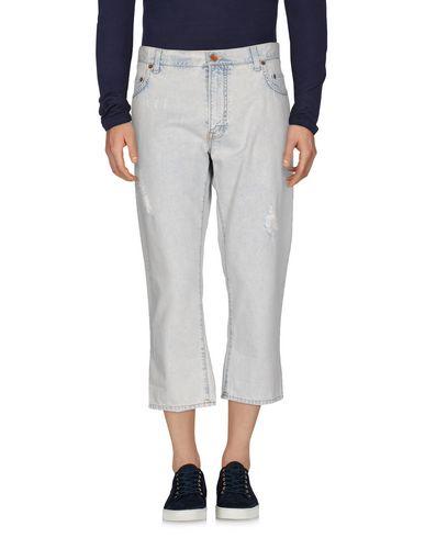 Джинсовые брюки-капри DOLCE & GABBANA 42536214DX
