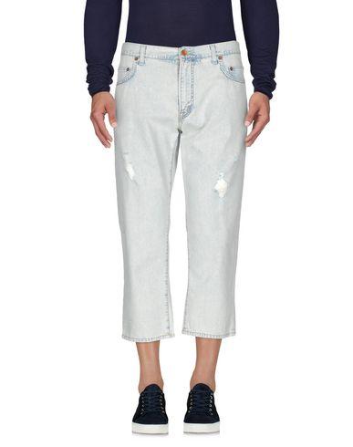 Джинсовые брюки-капри DOLCE & GABBANA 42536236OF