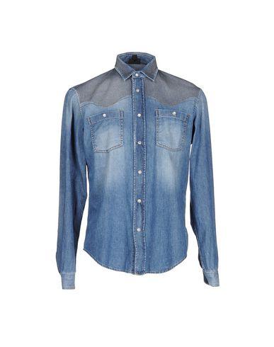 Джинсовая рубашка JUST CAVALLI 42537004HG