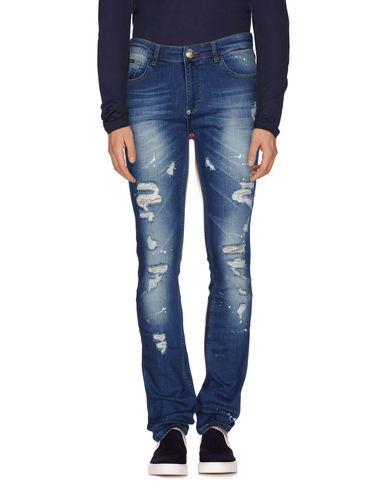Джинсовые брюки PHILIPP PLEIN 42537463AL