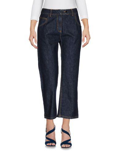 Джинсовые брюки-капри BLUMARINE 42537502TG