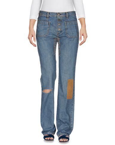 Джинсовые брюки SAINT LAURENT 42537529BN