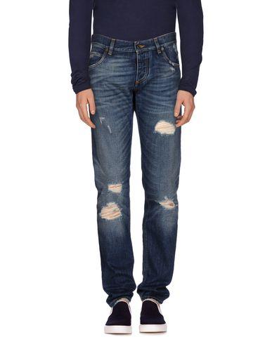 Джинсовые брюки DOLCE & GABBANA 42537636XG