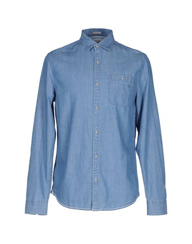 Джинсовая рубашка AN ORIGINAL PENGUIN BY MUNSINGWEAR 42539361TD