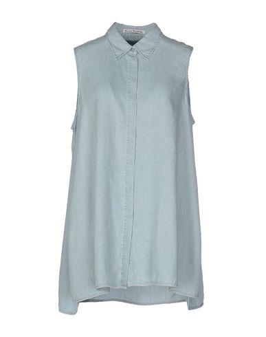Джинсовая рубашка ACNE STUDIOS 42539489ED