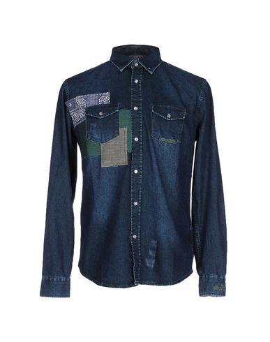 Джинсовая рубашка DESIGUAL 42539818GK