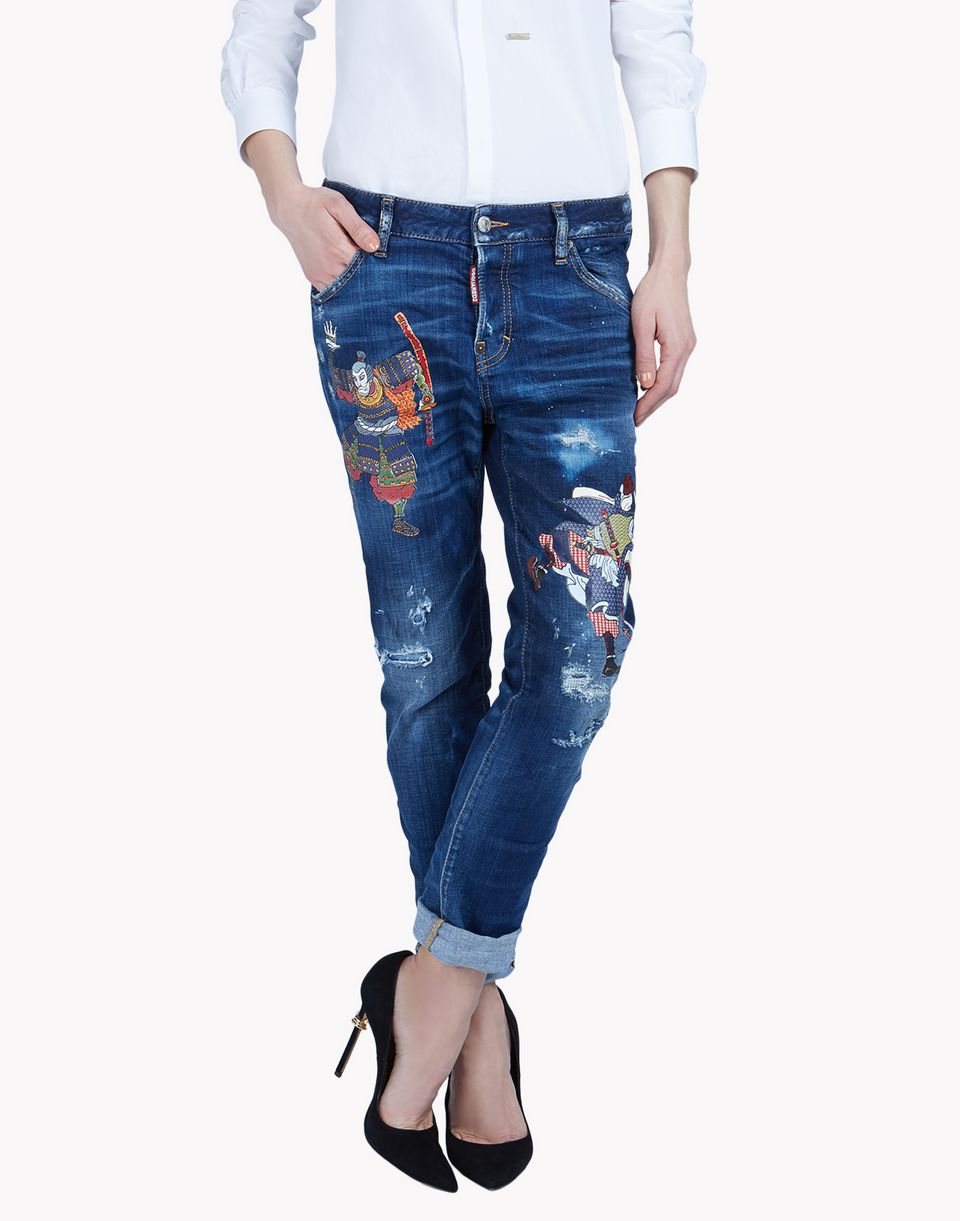 cool girl jeans denim Woman Dsquared2