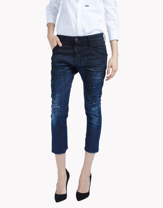 icon jeans  denim Woman Dsquared2