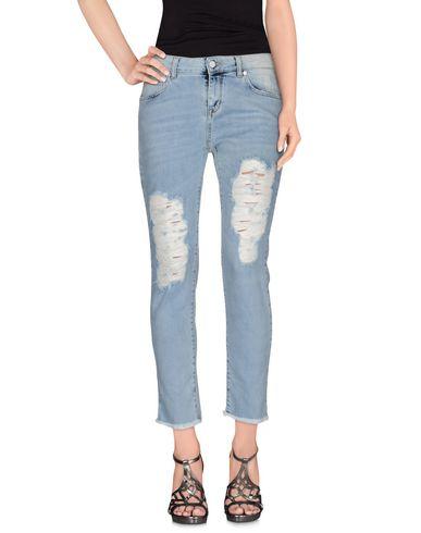 Джинсовые брюки-капри UP ? JEANS 42541873EK