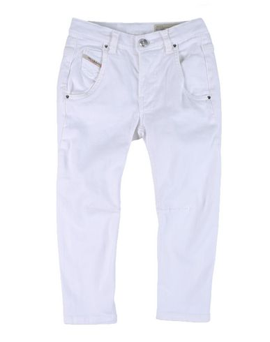 Image of DIESEL DENIM Denim trousers Unisex on YOOX.COM