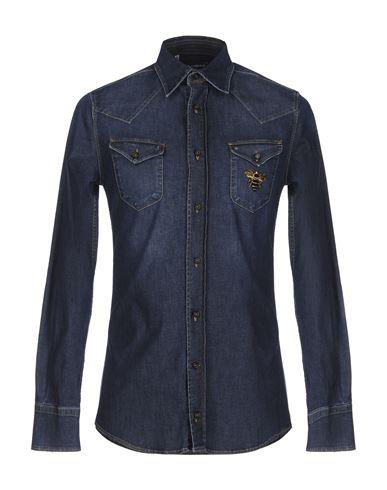 Джинсовая рубашка DOLCE & GABBANA 42542978DS