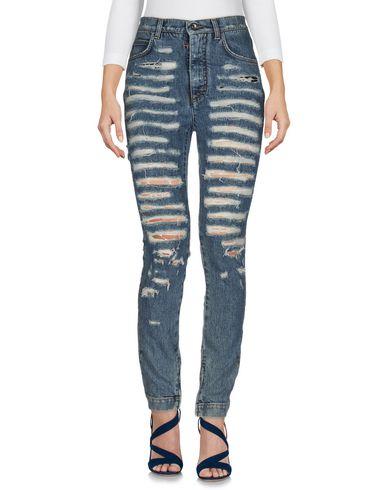 Джинсовые брюки DOLCE & GABBANA 42544548AC