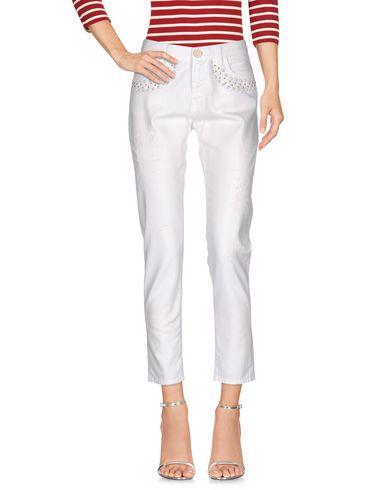 Джинсовые брюки PINKO TAG 42546731NH