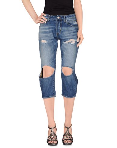 Джинсовые брюки-капри MELTIN POT 42547683UU