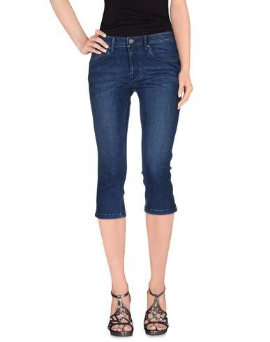 Джинсовые брюки-капри BURBERRY 42547772WV