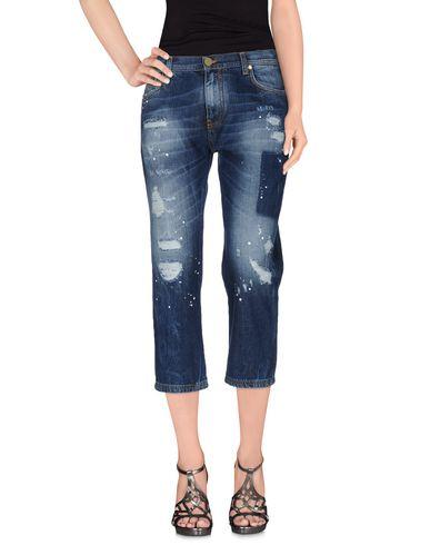 Джинсовые брюки-капри FRANKIE MORELLO 42548286PM