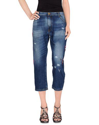 Джинсовые брюки-капри FRANKIE MORELLO 42548678RF