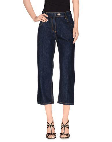 Джинсовые брюки-капри BLUMARINE 42548966IP