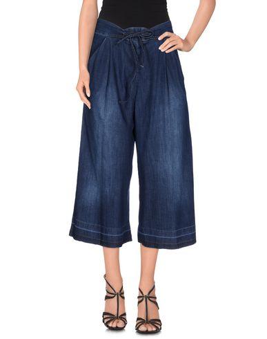 Джинсовые брюки-капри FORNARINA 42549168XW