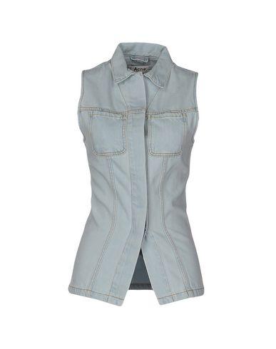 Джинсовая рубашка ACNE STUDIOS 42549613BL