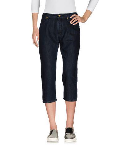 Джинсовые брюки-капри VERSACE 42551194GP