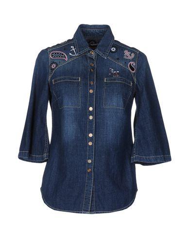 Джинсовая рубашка FRANKIE MORELLO 42552098XX
