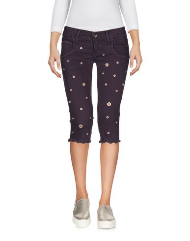 Джинсовые брюки-капри MET 42552218OK
