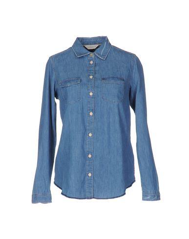 Джинсовая рубашка MAISON SCOTCH 42552247XB