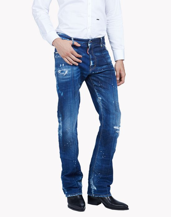 richard highlighted jeans denim Man Dsquared2