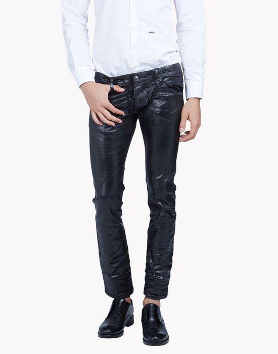 clement laminated jeans denim Man Dsquared2