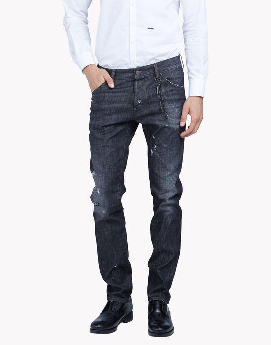 cool guy black wash jeans denim Man Dsquared2