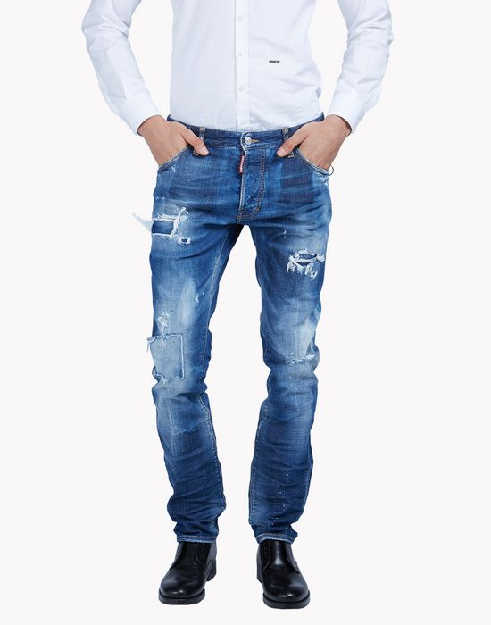 cool guy distressed jeans denim Man Dsquared2