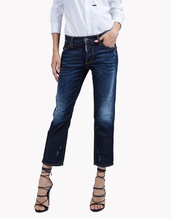 boyfriend jeans denim Woman Dsquared2