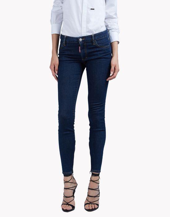 twiggy mid-rise jeans denim Woman Dsquared2