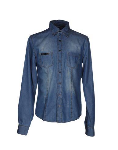 Джинсовая рубашка PHILIPP PLEIN 42552718TT