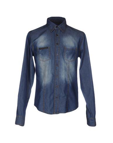 Джинсовая рубашка PHILIPP PLEIN 42552721DT