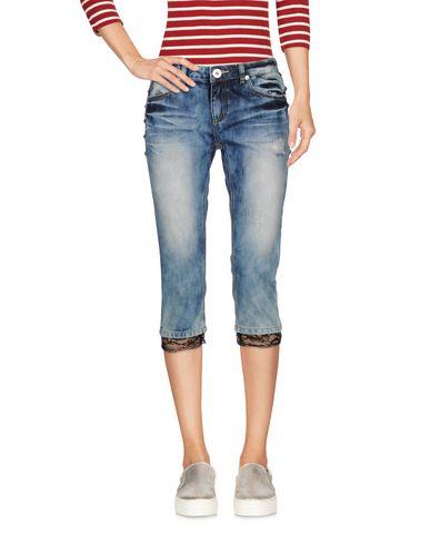 Джинсовые брюки-капри RELISH 42553073HD