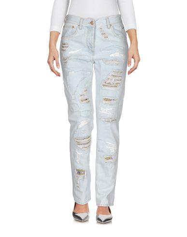 Джинсовые брюки ROBERTO CAVALLI 42553471GV