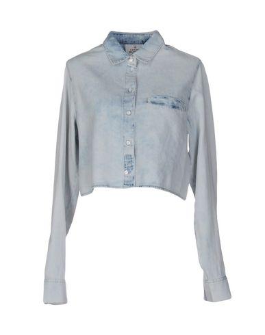 Джинсовая рубашка CHEAP MONDAY 42553587PG