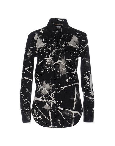 Джинсовая рубашка SAINT LAURENT 42553662LO