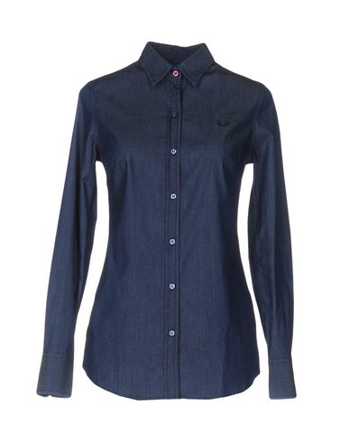 Джинсовая рубашка FRED PERRY 42553674HQ
