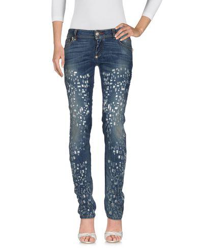 Джинсовые брюки PHILIPP PLEIN 42554103AP