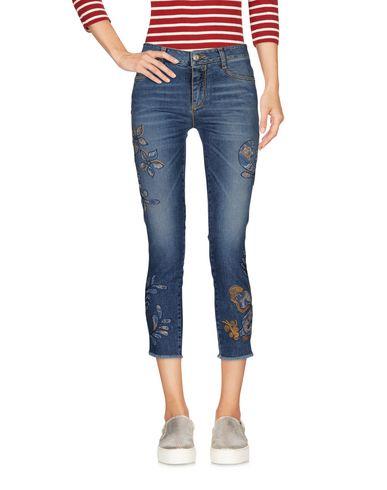Джинсовые брюки-капри ERMANNO SCERVINO 42554619HN