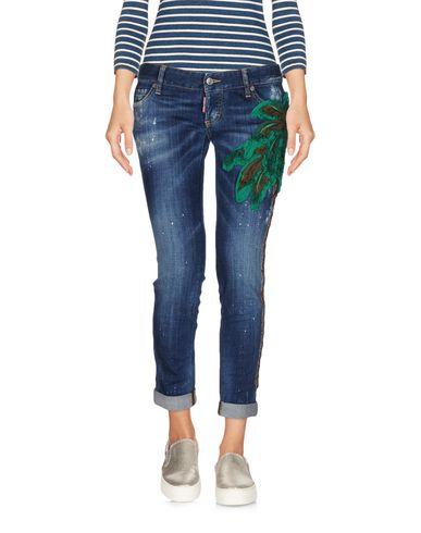 Джинсовые брюки-капри DSQUARED2 42555008LK
