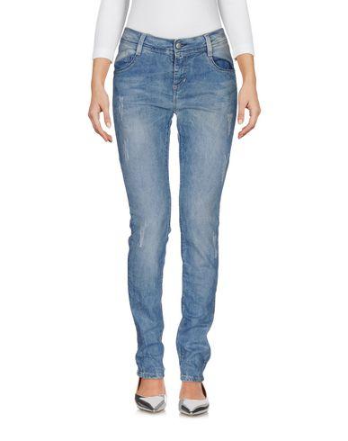 Джинсовые брюки BLUMARINE 42555080TU