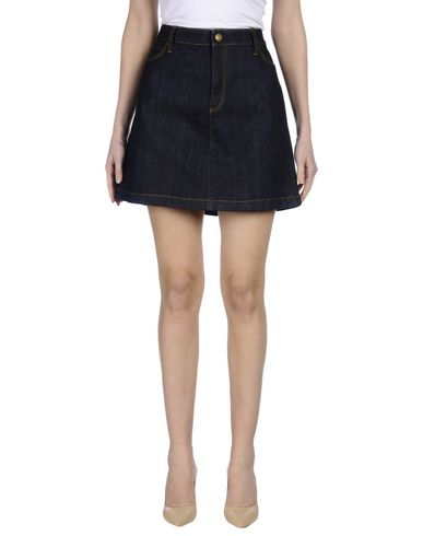 Джинсовая юбка BURBERRY 42555648RG