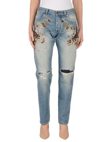 Джинсовые брюки DOLCE & GABBANA 42556110BA