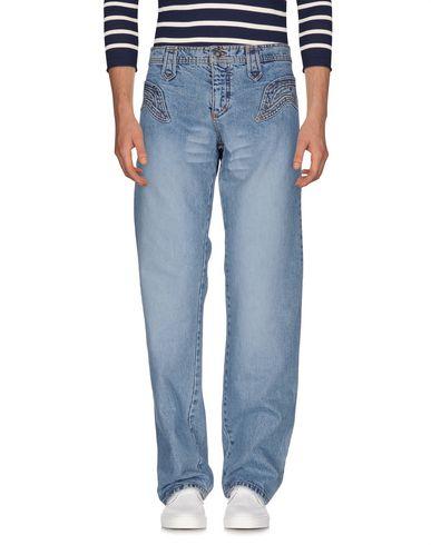 Джинсовые брюки ROBERTO CAVALLI 42556240QE