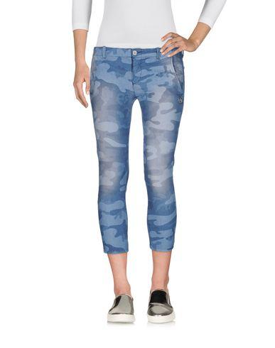 Джинсовые брюки-капри BLUGIRL FOLIES 42556424FM