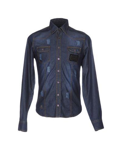 Джинсовая рубашка PHILIPP PLEIN HOMME 42556960BS